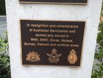 Noojee War Mem Plaque 1: March 2014