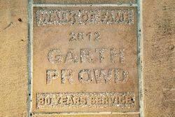 Garth Prowd: 02-June-2017