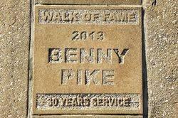 Benny Pike: 02-June 2017