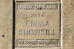 Emma Snowsill: 02-June-2017