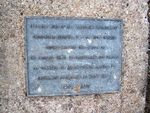 Normanby Hill remembrance Park Plaque 2 : 07-08-2013