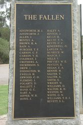 WW1 Honour Roll: 17-August-2015