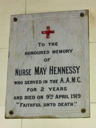 Nurse May Hennessy