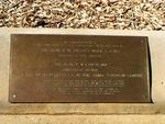 Oakey Aerodrome Plaque