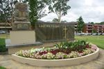 Oatley War Memorial Back : April 2014