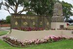 Oatley War Memorial Front 2 : April 2014