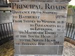Obelisk Distance Inscription (Peter Williams)