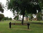 West Memorial Park : October 2013