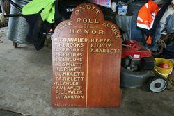 Honour Roll: 22-November-2012