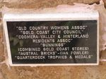 Oxenford  Coomera  Sponsors Plaque