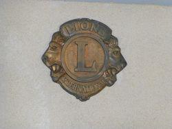 Lions Club Logo: 24-October-2014