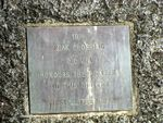 Peak Crossing Pioneers PLaque