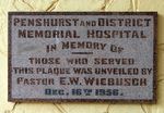 Penshurst & District Memorial Hospital : 14-May-2013