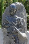 Afghanistan Soldier Sculpture : April 2014