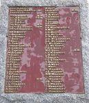 Penshurst War Memorial : 5-September-2011