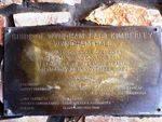 Peter Reid Memorial Hall Opening PLaque