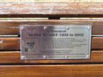Peter Storey Plaque
