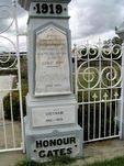 Pine Rivers Honour Gates Dedication