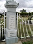 Pine Rivers Honour Gates Right Outer Pillar