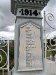 Pine Rivers Honour Gates WW1 Honour Roll