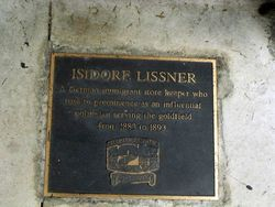 Isidore Lissner : 23-April-2011