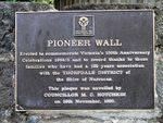 Pioneer Wall : 11-April-2013