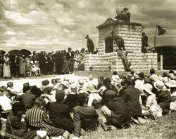 27-July-1936 : Unveiling by the Governor Sir Winston Dugan : State Library of SA
