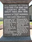 Port MacDonnell War Memorial : 24-November-2012