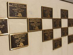 Putty Road Memorial Wall : 10-September-2014