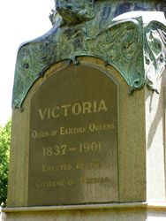 Queen Vic Inscription : 23-October-2014