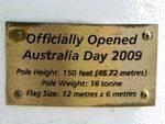 Queensland 150th Dedication