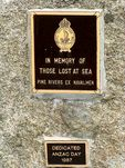 RSL Naval Memorial Plaques