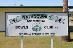 Rathdowney Returned Services League RSL Memorial