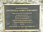 Reginald James Fogarty : 28-December-2010