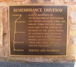 Remembrance Driveway : 25-January-2011