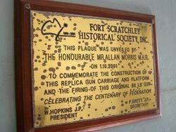 Replica Gun Plaque : 17- July-2014