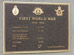 WW1 Plaque: 05-May-2016
