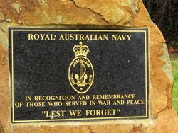 Navy Plaque:19-April-2016