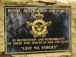 Air Force Plaque : 19-April-2016