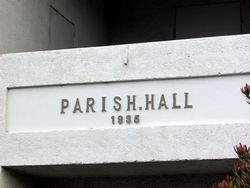 Parish Hall Stone: 05-May-2016
