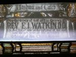 Reverend Edwin Watkin : 09-December-2011