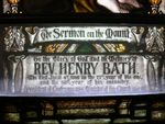 Reverend Henry Bath : 08-December-2011