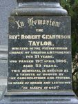 Reverend Robert Taylor : 01-May-2011