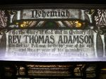 Reverend Thomas Adamson : 08-December-2011