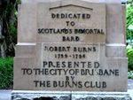 Robbie Burns Insc