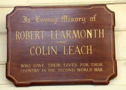 Robert Learmonth & Colin Leach
