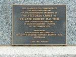 Robert Mactier VC Memorial Garden