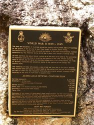 WW2 Plaque : 24-October-2014