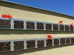Memorial Plaques : 14-December-2014