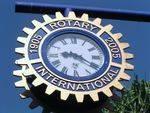 Rotary Centenary Clock